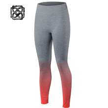 flexible gym Training Women yoga Leggings Fitness Compression pants gradient Workout running tights sport Quick Dry