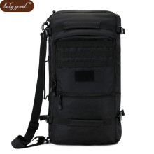 Lucky Gourd Hot 50L High Quality Nylon Bag Military 17 Inch Laptop Men Backpack Travel Rucksack Bags 2017 School Backpacks  D047