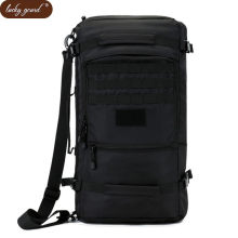 Lucky Gourd Hot 50L High Quality Nylon Bag Military 17 Inch Laptop Men  Backpack Travel Rucksack 1946b6e3181e4