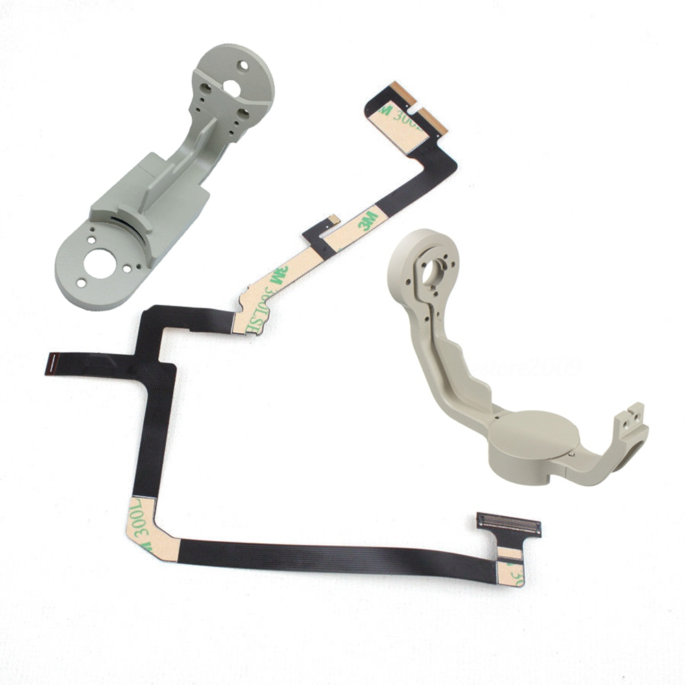 3 in 1 Gimbal Bracket Roll Arm Yaw Bracket and Ribbon Flat Cable Flex for DJI Phantom 4 Drone Camera Repairing Spare Parts
