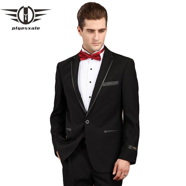 Plyesxale Men Suit 2018 Black Prom Suits For Men Formal Wear Tuxedos ...