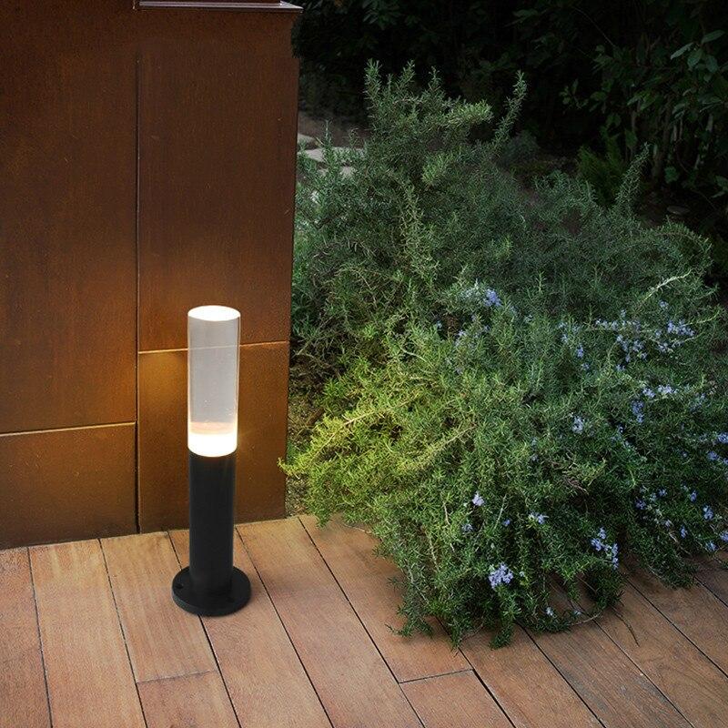 Светильник лужайки светодиодный street акриловые свет европеизм двор огни Сад за пределами пейзаж в парке уличные фонари ZSH5071