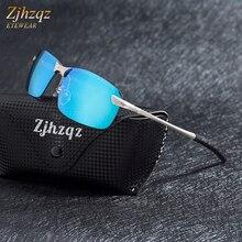 8fc9ae5d4fc084 ZJHZQZ TR90 lunettes de Soleil Sans Monture Conduite Sportive de Haute  Qualité Carré Sans Cadre Lunettes de Soleil Pour Femmes H..