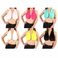 2017 New Women S Sexy Tube Tops Towel Hanging Neck Wrapped Chest 6 Kinds Of Color
