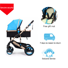Belecoo  BabyGift Baby Strollers Portable Lightweight Baby Carriage High Landscape Outing Travel Car Yummy Mummy Stroller
