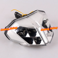 Motorcycle For Ducati Streetfighter S 848 1100 LED Taillight Turn Signals Lamps Clear