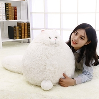 Kawaii soft Plush Fluffy Persian Cat plush Cats Toys for children stuffed animals Chat Pillow cats doll kids Christmas gifts