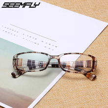 Seemfly Retro Reading Glasses Women Men Ultralight Hyperopia Presbyopia Eyeglasses Clear Lens Unisex Eyewear Diopter +1.0 + 4.0