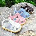 Couro Sapatos Mocassins Menina Menino Da Criança Do Bebê Walker Botas Infantis Sapatos primeiros Caminhantes Do Bebê Verão Bota Infantil 503012