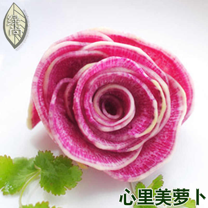 ハート美容大根フルハウス赤大根 4 季節植物ガーデンバルコニー鉢植え野菜盆栽 10 ピース
