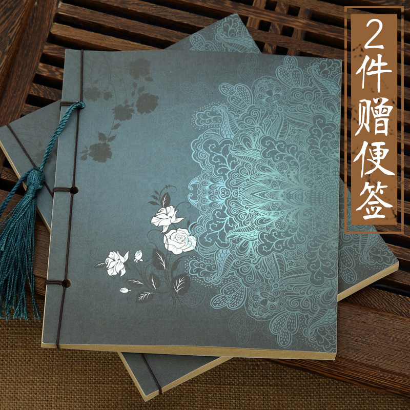 Special Offer ANTIQUITY UNION Vintage Notebook Tassels Wire-bound Diary Notepad Kraft Paper 1PCS