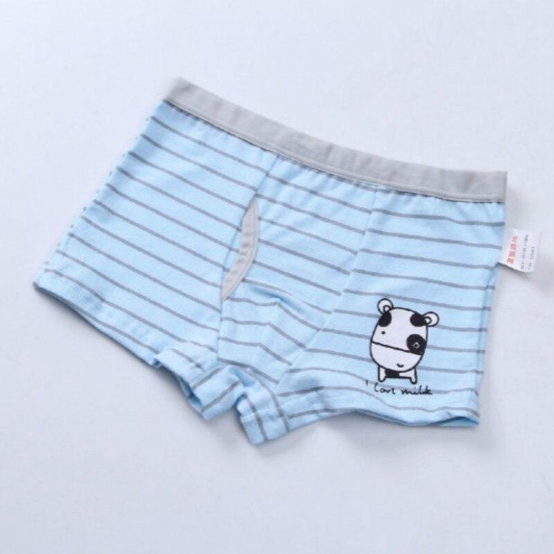 2Pc/Lot Boys Panties Cotton Boxer Shorts Briefs Kids  Children Clothes Underpants 110-160 5