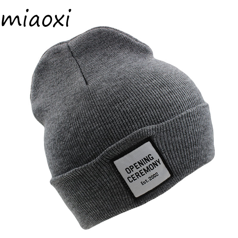 71a0f6dbfa945 miaoxi 6 Colors New Casual Women Warm Hat Winter Knitted Hats For Women s  Cap Fashion Knitting Beanies Skullies Hip Hop Bonnet