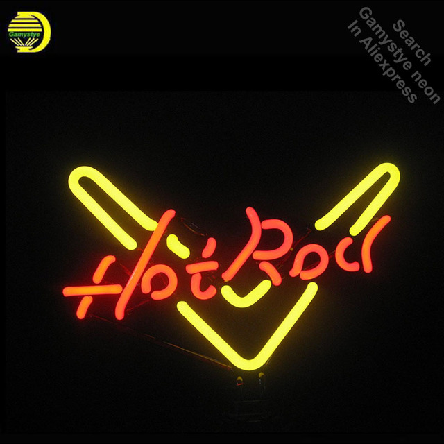 Neon Sign for Hot Ro Neon Bulb sign handcraft Glass tubes Decorate windows lights personalized electronic signs