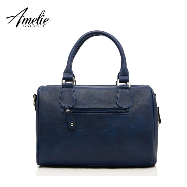 AMELIE GALANTI 2017 new fashion retro bag handmade embroidery car and girl portable single shoulder bag women bag free shipping