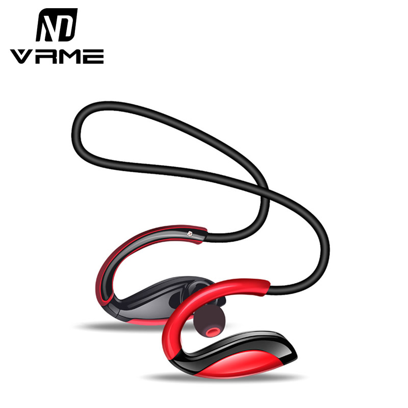Vrme Super Bass Wireless Headphones Bluetooth Sport Headphones Music Headset Hifi Earphone with Microphone for iPhone 7 Xiaomi bluedio t4 original wireless headphones portable bluetooth headset with microphone for iphone htc samsung xiaomi music earphone