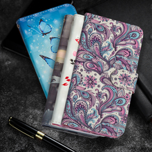 Painting Flip cell Phone Case For Alcatel U5 3G 4047D 4047 4047Y Stand Wallet Leather + Soft TPU Cover Coque<