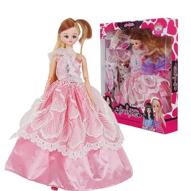 Moda 12 articolazioni mobili bambola di plastica fai da te for Mobili per barbie fai da te