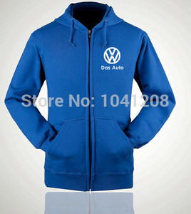 Image 2 - ectic S~XXL size 4 colours winter jackets Volkswagen VW 4S worker clothes sweatershirt pullover