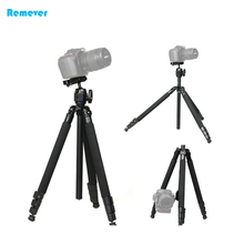 High quality Aluminum alloy Professional Tripod comes with quick release plate+lock button for Cameras DSLR SONY CANON NIKON new arrival lightweight portable mini professional tripod with ball head quick release plate for cameras dslr canon sony nikon