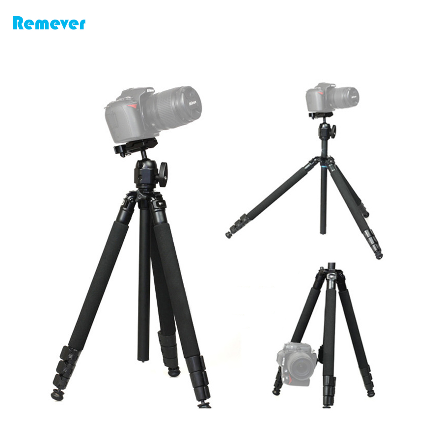 High quality Aluminum alloy Professional Tripod comes with quick release plate+lock button for Cameras DSLR SONY CANON NIKON professional 7005 aluminum alloy tube clap long track ice blade 64hrc high quality dislocation skate shoes knife 1 1mm frame
