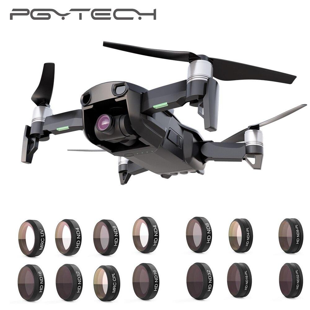 PGYTECH DJI Mavic Air filtres de caméra ND4 8 16 32 PL UV CPL Protecteur Lentille HD kit de filtre pour DJI Mavic Air accessoires de drone Partie