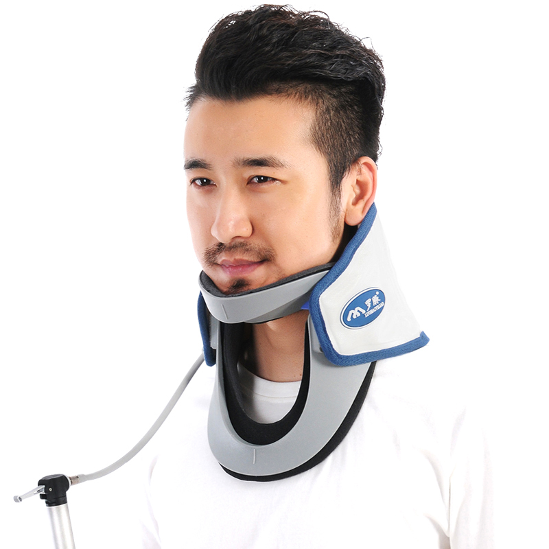 Upgrade Neck Brace With Pump Adjule Cervical Collar Air Traction Therapy Device Relax Pain Relief Tool For Men In Braces Supports From