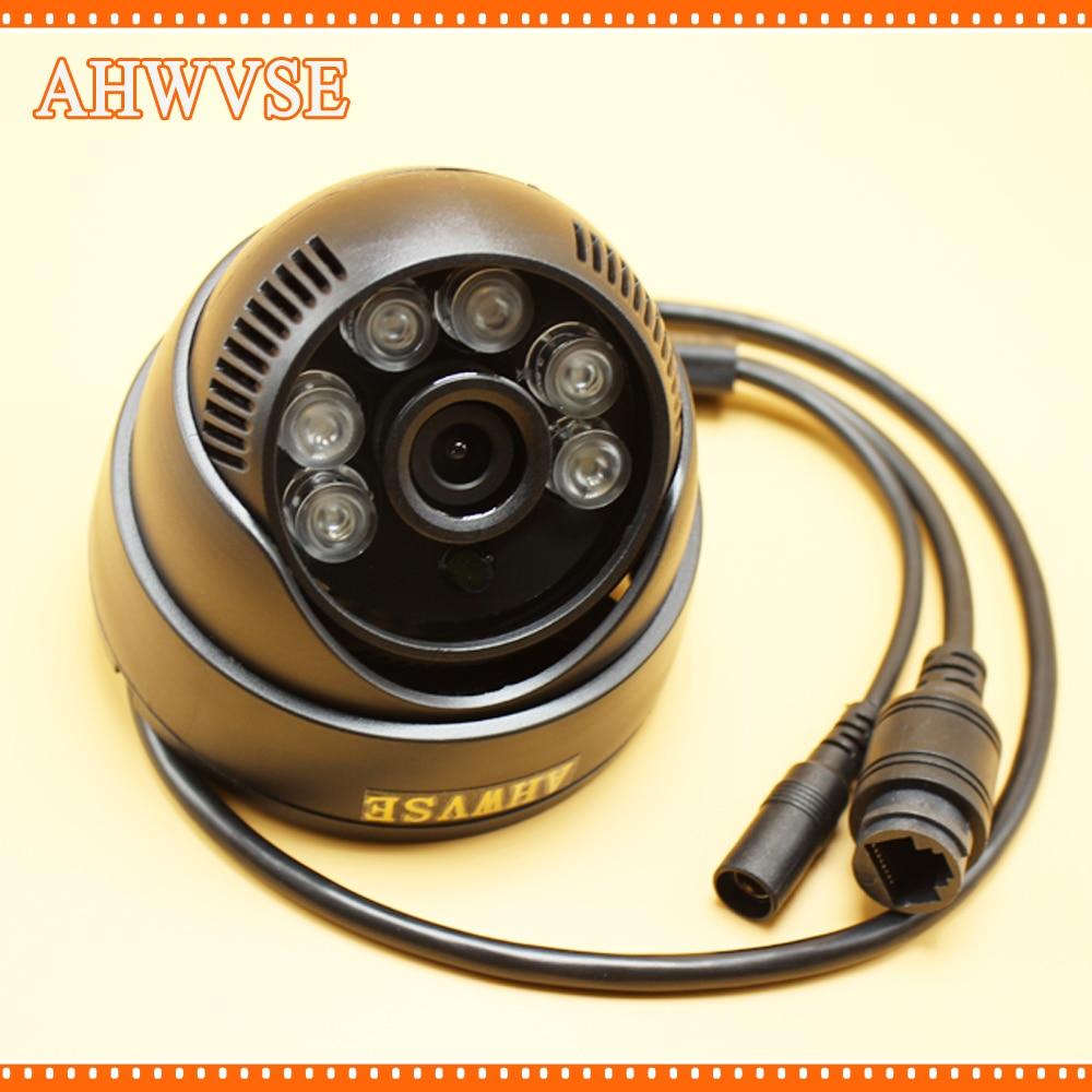 AHWVSE HD 720P IP Camera Indoor Camera DC 12V 48V POE Optional