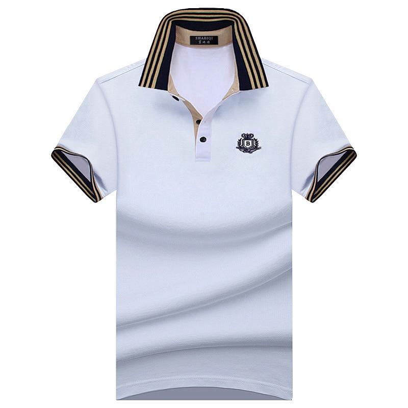 SHABIQI Size S-10XL 2018 Summer Fashion Brand Men's shirt Men   Polo   Shirt Summer Short Sleeve   Polos   Shirt T Designer   Polo   Shirt