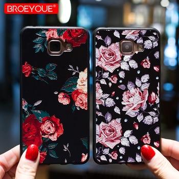 3D Relief Case For Samsung Galaxy A5 2017 Case S8 S9 Plus S7 Edge Note 8 J3 J5 J7 A3 A7 A8 2016 2017 Prime J2 Pro 2018 Covers