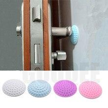 Self Adhesive Rubber Door Buffer Wall Protectors Door Handle Bumpers for Door Stopper Doorstop