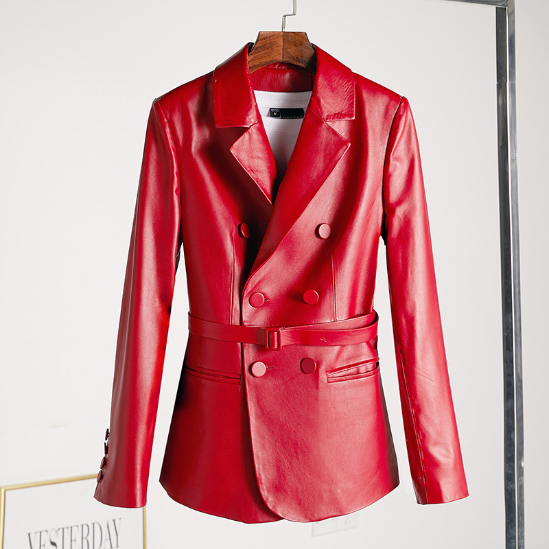 Real Genuine Leather Jacket Spring Women Clothes 2019 Sheepskin Coat Korean Elegant Spring Female Jacket Women's Fur Coat ZT2180