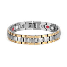 New Titanium Steel Bracelet Classic Health Care 4 In-all Plated Women Korean Edition Accessories