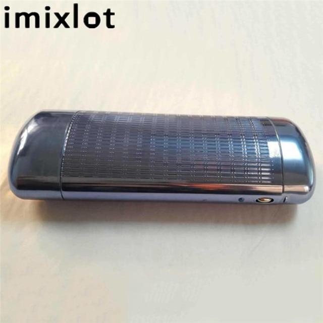 Imixlot синий/серебристый алюминий магния элегантные солнцезащитные очки случаях высокое качество автоматической очки для чтения поле