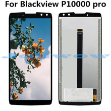 цена на For Blackview P10000 pro LCD Display+Touch Screen Digitizer Assembly Replacement For Blackview k10000 pro
