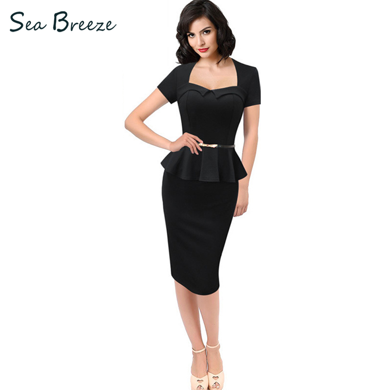 Sea Breeze Fake Two Pieces Summer New Temperament Women