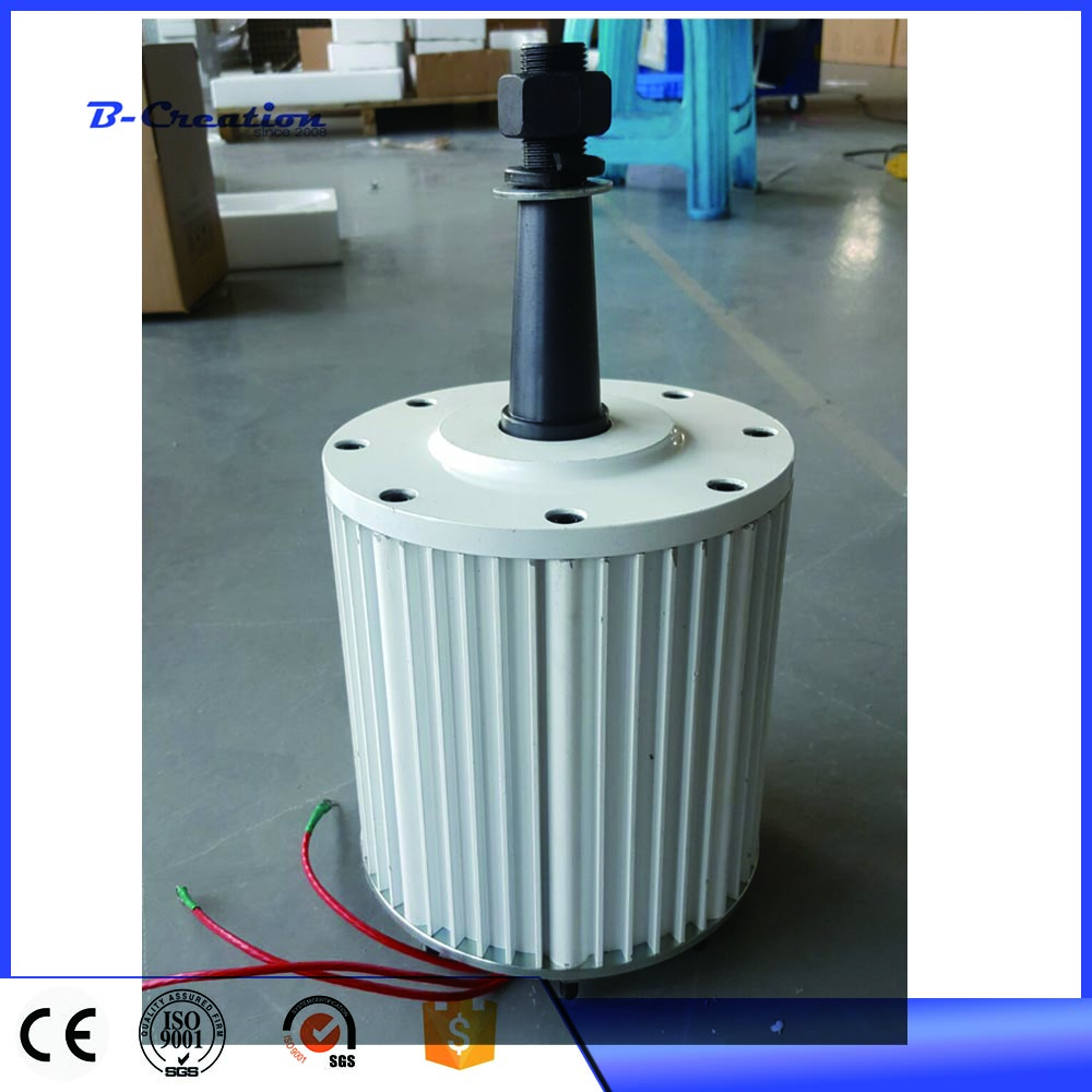 цена 110V/220v 2KW permanent magnet generator low RPM with free rectifier controller with base онлайн в 2017 году