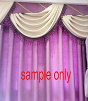 1 Meter Acrylic Crystal Bead Tassel Trim Fringe Curtain Lace Upholstery Fo Curtain Decoration Sewing Accessories