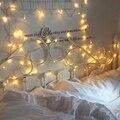 10 М водонепроницаемый свет шнура Сид RGB цвет 100led AC110V 220 В Рождественский свет Светильник Украшения для Свадьбы