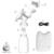 Nuevo 2016 producto del bebé blanco/rosa mama sacaleches eléctrico diy usb inteligente sacaleches eléctrico extractor de leche de alimentación gk
