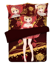 Game Anime Fate/EXTRA Nero Claudius Otaku Bedding Linen Set Bed Sheet or Duvet Cover with Two Pillow cases