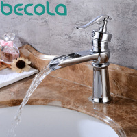 Becola New Design Antique Brass Faucet Brushed Nickel Bathroom Faucet Black And Chrome Basin Tap B