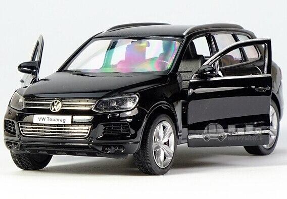Подарок для ребенка 1:36 1 шт. 12.5 см деликатес ю . фэн Volkswagen Touareg мини сплава автомобиля отступить модель украшения мальчик детей игрушки