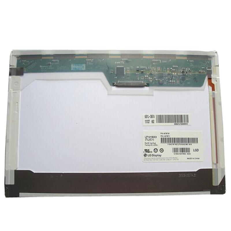 New 12.1 Laptop LCD Screen Panel Display B121EW09 V.3 LTN121AT07 LP121WX3 TL C1 For IBM X200 X201 K26 new for lenovo thinkpad x201 lcd led screen 12 1 inch ltn121at07 l02
