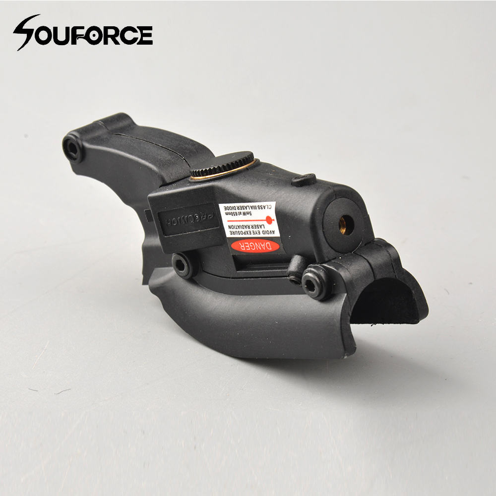Tactical Red Laser Dot Sight with Lateral Grooves Wavelength 650nm Laser for M92 96 M9