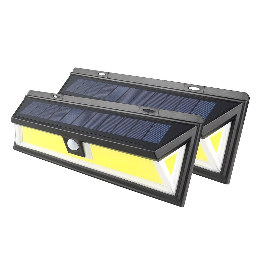 ZINUO 180 HA CONDOTTO LA Luce Solare Umano A Raggi Infrarossi PIR del Sensore di Movimento Lampada Da Parete di Sicurezza Lampade escursione e campeggio Impermeabile IP65 Lampada Solare del Giardino