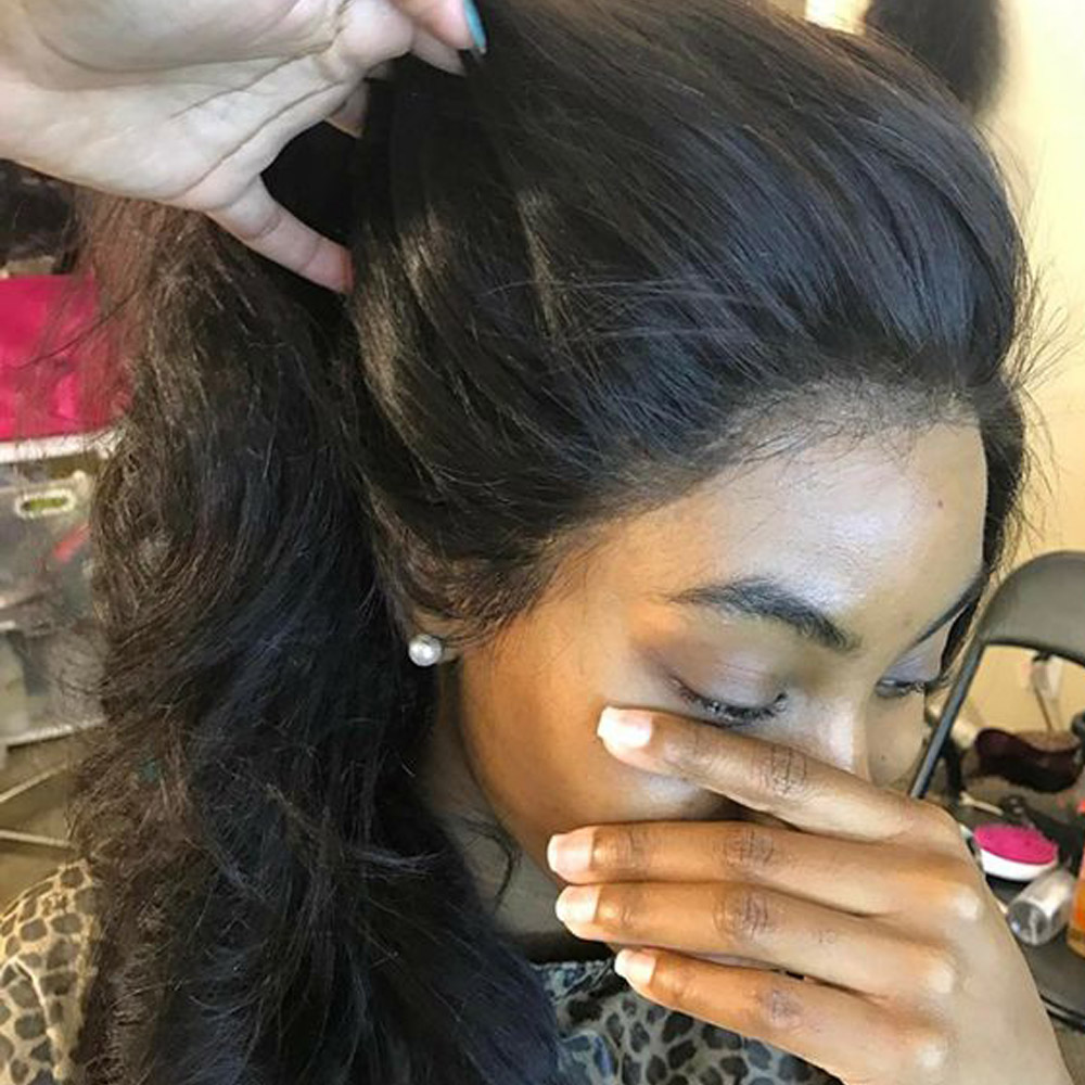 Lace Front Human Hair Wig 13*4 Pre Plucked With Baby Hair Brazilian Body Wave Human Hair Wigs Remy Hair Lace Front Wigs