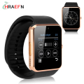 Hraefn mejor sincronización de reloj del bluetooth de smart watch gt08 2016 notificador smartwatch teléfono para ios apple iphone android samsung gear s3 s2