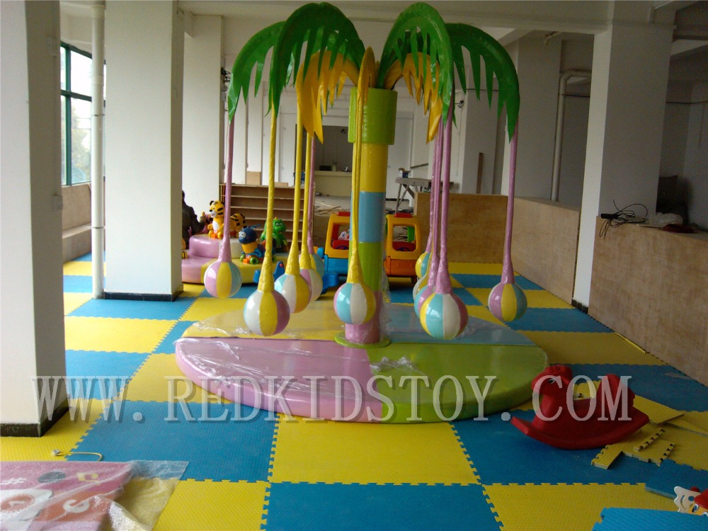 US $1298 0 |Electric Palm Tree for Soft Playground Children Play Center  Electric Coconut Tree HZ 7905c-in Playground from Sports & Entertainment on