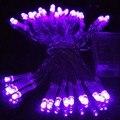 20/30/40/50/80 LED 9 Cores de Fadas Corda Luzes Lâmpadas de Energia Da Bateria Para Casa Wedding Party Xmas Jardim Decoração Ao Ar Livre